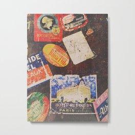 AROUND THE WORLD / 2 Metal Print