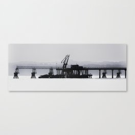 The Old Oil Terminal Canvas Print