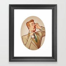 Robert Lutece Framed Art Print