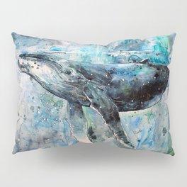 Whale Art Pillow Sham