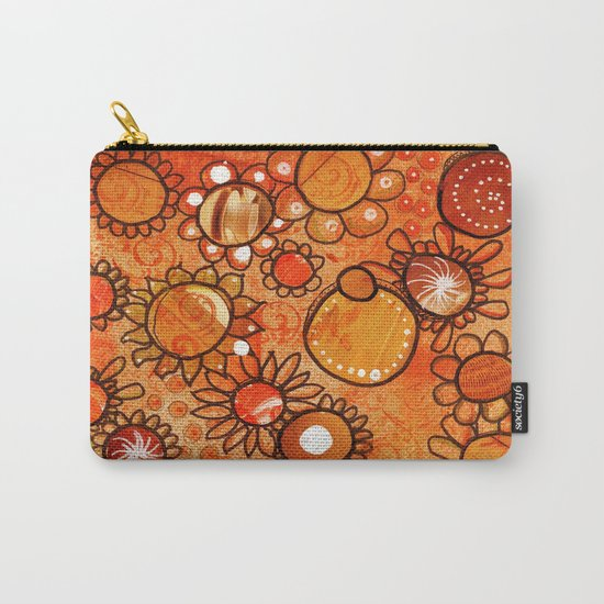orange, yes Carry-All Pouch