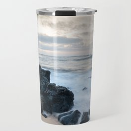 Dramatic coastline at Poipu beach in Kauai, Hawaii. Travel Mug