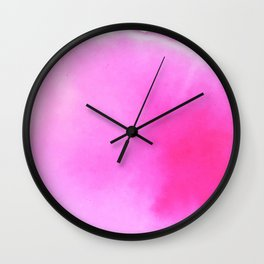 Rosé Vibes Wall Clock