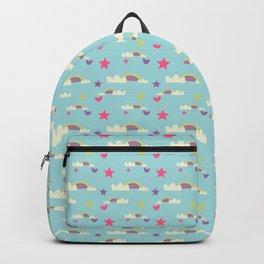 Rainbow fun blue Backpack