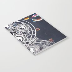 Yin Yang Symmetry Balance Reflection Notebook