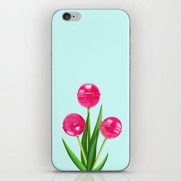 LOLLIPOP TULIPS iPhone Skin
