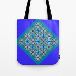 Prelude to Metatron (Indigo) Tote Bag
