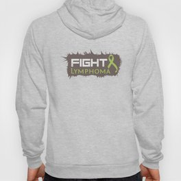 Lymphoma Fighter T Shirt Hoody