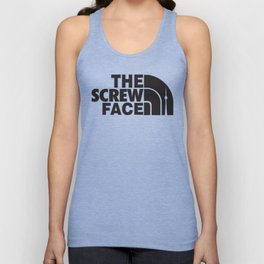 Screw Face  Unisex Tank Top