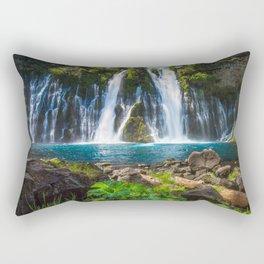 Burney Falls Delight Rectangular Pillow