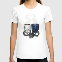 writer T-shirts featuring Writer and Detective  by Edite Kirse