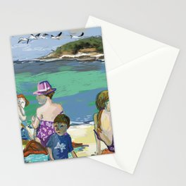 Esmeralda & Brood (Saw Sea Art Series) Stationery Cards