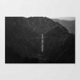 1950s waterfall Canvas Print