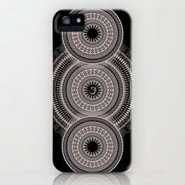 Om Mandala iPhone Case