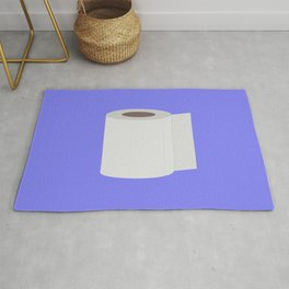 Roll of toilet paper Rug