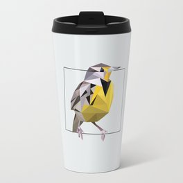 Wyoming – Western Meadowlark [Fly Home: State Bird Collection] Travel Mug