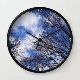 Reaching for the clouds Wall Clock