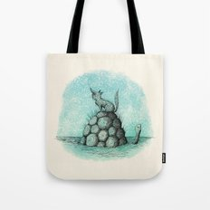 'Where Did You Go?' (Colour) Tote Bag