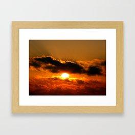 Friday Sunrise Framed Art Print