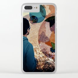 Daydream Collaboration Clear iPhone Case