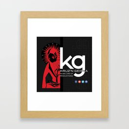 kg Framed Art Print