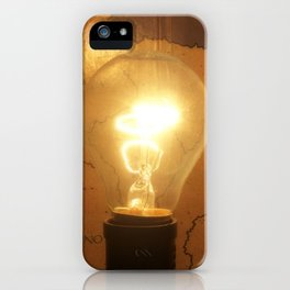 Let There Be Light - I iPhone Case