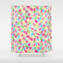 01 Loose Confetti Shower Curtain