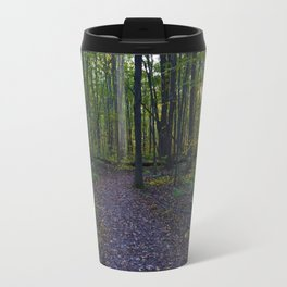 Boardwalk through the forest in southern Ontario, CA Travel Mug
