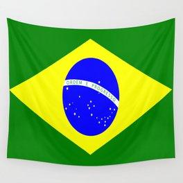 Flag of Brazil Wall Tapestry
