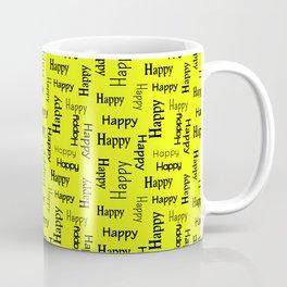 Happy Happiness Smiling Motivational   Coffee Mug