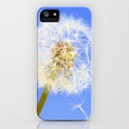 Wishing Flower iPhone Case