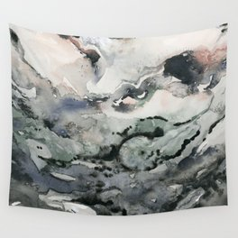 Dark Geode Wall Tapestry
