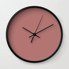 canyon rose Wall Clock