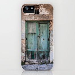 Green Door II iPhone Case