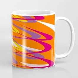 Colourful Tornado Twister Abstract Design Coffee Mug