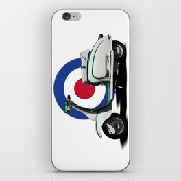 Mod scooter iPhone Skin