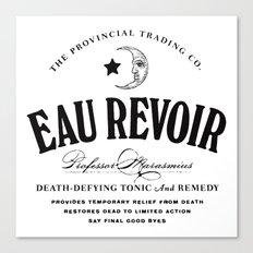 Eau Revoir Canvas Print