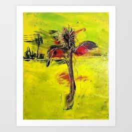 Salvation (Scarecrow in the Desert)  Art Print