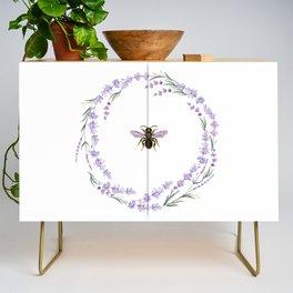 Lavender Bee Credenza