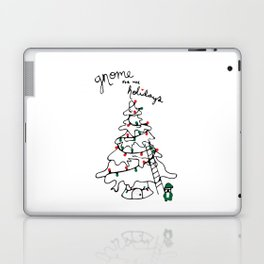 Gnome for the Holidays Laptop & iPad Skin