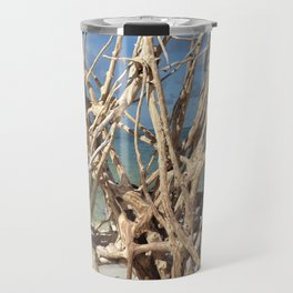 Driftwood Sculpture Cayo Costa Travel Mug