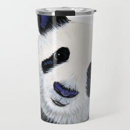 Panda Bear ' HuGSy ' by Shirley MacArthur Travel Mug