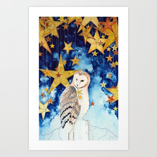 Star keeper Art Print