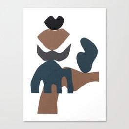 ejercicio sustantivo #7 Canvas Print