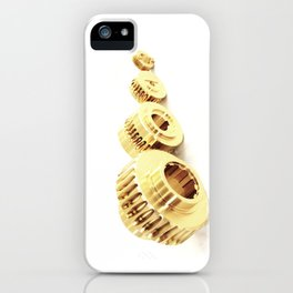 Bronze wormwheels iPhone Case
