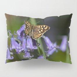 Butterfly on Bluebells Pillow Sham