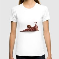 snail T-shirts featuring Snail by Alexander Skachkov