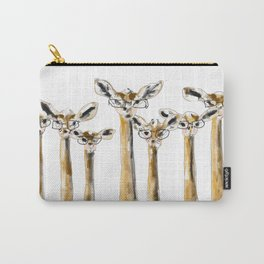 Hipster Gerenuk Carry-All Pouch