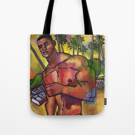 Guayacanes: Jeison in a Speedo Tote Bag