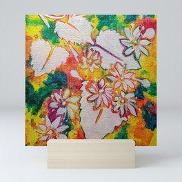Leaves on the World Tree: Bashkir Linden Mini Art Print